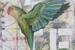 Detail of Lovebirds and Papers Trails